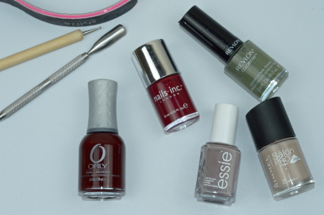 My Top Winter Nail Varnishes Overview
