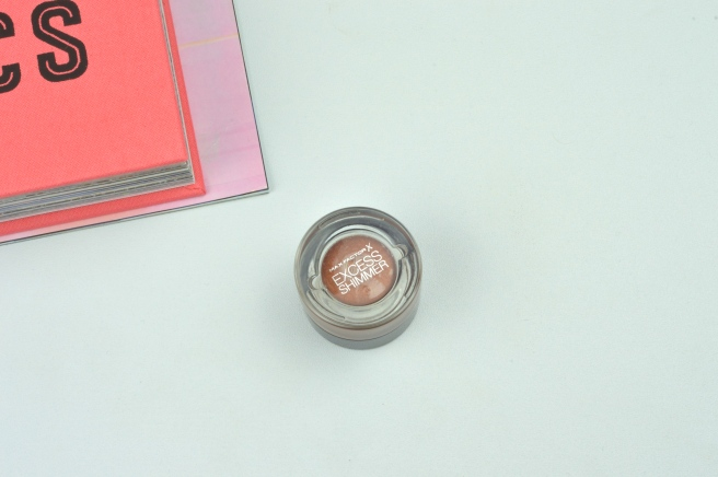 Max Factor Excess Shimmer Eyeshadow in Bronze