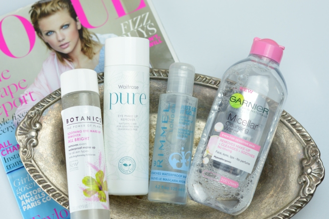 Eye Makeup Removers Overview