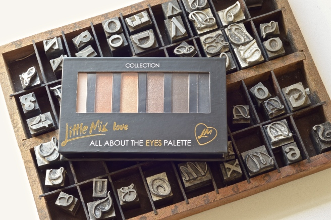 Collection Little Mix All About the Eyes Palette Cover