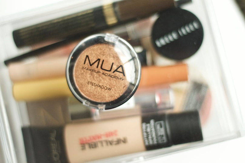 Made From Beauty Top 5 under £5 - Eyes - MUA Copper Eyeshadow