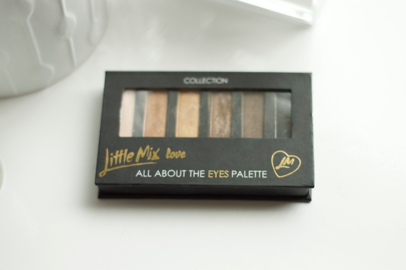 Made From Beauty Top 5 under £5 - Eyes - Collection Little Mix Palette Closed