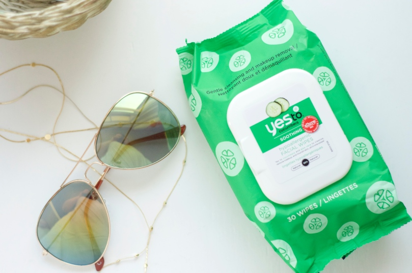 Made From Beauty Yes To Cucumbers Soothing Hypoallergenic Facial Wipes